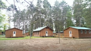 Log Bunkhouse Cabins