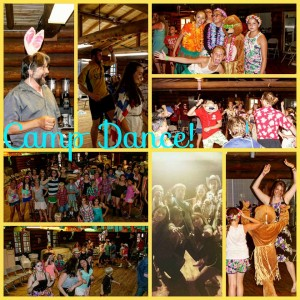 dance themes collage